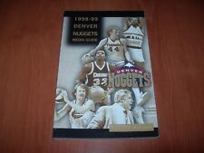 DENVER NUGGETS 98/99 NBA MEDIA GUIDE