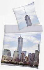 Bettwäsche New York - One World Trade Center - 135 x 200cm + 80x 80cm - Renforcé