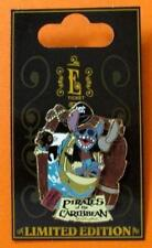 Disney Pin WDW E Ticket Attractions Stitch Pirates of the Caribbean 3D LE NOC