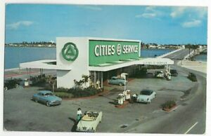 BROAD CAUSEWAY CITIES SERVICE GAS,SERVICE STATION~NORTH MIAMI BEACH,FL -PM 1953