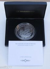 2008 CASED 5oz SILVER PROOF £10 COIN TRAFALGAR SCENE WITH NELSON CAME .925 C.O.A