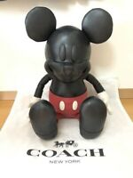 Coach Disney mickey mouse doll plush