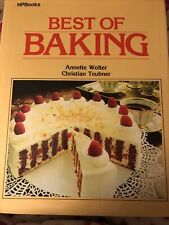New ListingHpbooks Best Of Baking By Annette Wolter/Christian Teubner (1980)