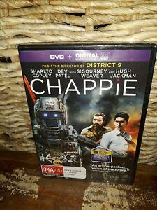 CHAPPIE Hugh Jackman Sigourney Weaver UV DVD (NEW+SEALED) Director of District 9