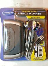 Bullshooter By Arachnid steel tip TUNGSTEEL dart set Heavy Hitter 21 Gr +gear +