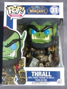 Thrall World Of Warcraft Pop Funko Games Vinilo Figura N º 31 Caja + Protector