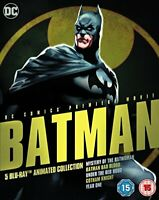 Batman: Animated Collection [Blu-ray] [2016] [Region Free] [DVD][Region 2]