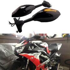 Motorcycle Smoke Lens LED Turn Signal Side Mirror For Honda CBR900/929 Superbike