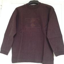 sweat / sweatshirt / pull marron - IKKS - 12 ans - TBE