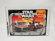 Graded Vintage Star Wars Landspeeder Collector Series Boxed 1983 UKG70 MISB
