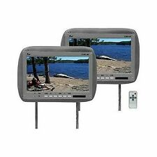 "Tview T110PLGR Monitor 11.2"" Widescreen Gray in Headrest Remote"