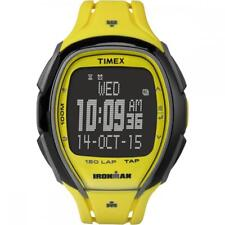 Orologio TIMEX SLEEK 150 LAP TW5M00500 TAP SCREEN Digitale Silicone Giallo Nero