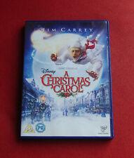 A Christmas Carol - Region 2 DVD - Jim Carrey Colin Firth Robert Zemeckis Disney
