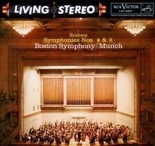 Charles Munch - Sony Classical Originals: Brahms Sinfonien Nr. 2 und 4 - CD