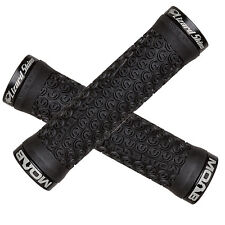 Lizard Skins Moab Lock-On MTB Mountain Bike Grips - Black/Black