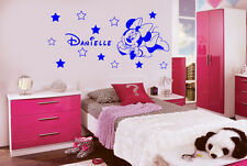 personalisnie Disney Minnie Mouse Pegatinas de pared (12 Estrella) (C)