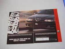 advertising Pubblicità 1997 ALFA ROMEO 146 TWIN SPARK