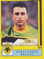 N°021 KARAGIANNIS AEK ATHENS GREECE PANINI GREEK LEAGUE FOOT 95 STICKER 1995