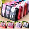 New Women Girl Leather Long Wallet Clutch Card Holder Handbag Coin Bag Cat Purse
