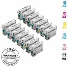 14 Pack Ink Cartridge Set for Epson T078 Stylus Photo Printer R280 R380 T078920