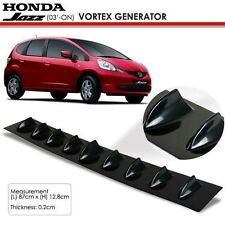 New JDM Honda Jazz 2003 Onwards Glossy Black Vortex Generator Spoiler