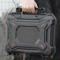 Protective Case Gun Pistol Camera Storage Box Shockproof Handgun Sponge Case BK
