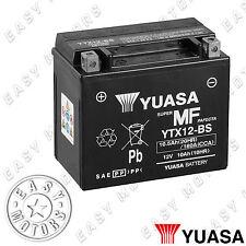 BATTERIA YUASA YTX12-BS KAWASAKI ER-5 500 1997>2005