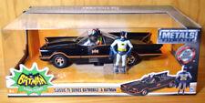 1:24 Jada Classic TV Series Batmobile & Batman/Robin - NEW/Sealed MIB XHTF