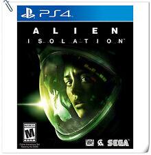 PS4 Alien: Isolation SONY Playstation Sega Action Games