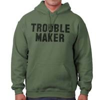 Troublemaker Rebel Funny Sarcastic Graphic Hoodies Sweat Shirts Sweatshirts