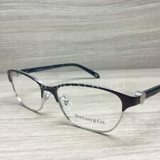 84b8fd31f14b5 Tiffany   Co. TF 1072 Eyeglasses Purple Silver Blue Marble 6107 Authentic  51mm