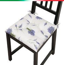 CUSCINO coprisedia LAVANDA moderno imbottito cuscini sedie cucina casa MORBIDO