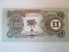 One 1 Pound Banknote! Vintage Biafra currency note: Is180