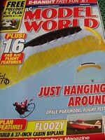 AIRCRAFT RCMW RC MODEL WORLD JUNE 2015 E BANDIT JET PLAN FLOOZY BIPLANE CAPICHE