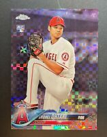 SHOHEI OHTANI 2018 Topps Chrome XFRACTOR Rookie RC #150 SP X-Fractor Refractor