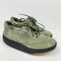 MBT Physiological Footwear Barabara Olive Suede Shape Ups Shoes Women's Size 8