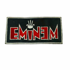 EMINEM Embroidered Rock Band Iron On or Sew On Patch UK SELLER Patches