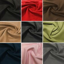 Washable Wool Soft Brushed Style 150cm Wide Polyester Viscose Fabric 2