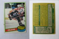 1980-81 Topps #250 Gretzky Wayne creases   oilers $ 60