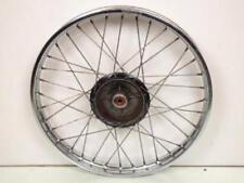 Jante avant moto Yamaha 125 DTMX 2A600 Occasion jante roue cercle moyeu