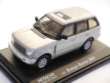 Range Rover 3 Mk III LM 2002 silber argentin silver metallic, Hitachi 1:43 boxed