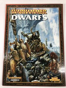 Dwarves Dwarfs Armies Army Book Codex Rulebook 6th Edition Warhammer Fantasy B4