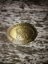 2007 Boy Scout Quivira Council 30th Trappers Rendezvous Belt Buckle