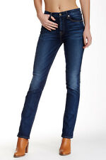 7 For All Mankind The High Waisted Vintage Straight Leg Jean 25 NWT $198