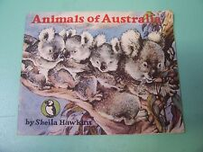 Puffin Picture Book No 45 Animals of Australia by Sheila Hawkins