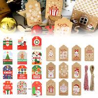 48-100 x Geschenk Anhänger, Hängeetiketten, Anhängeetiketten, Etiketten Schilder
