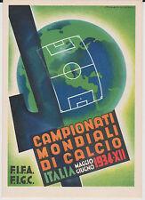 SPORT FOOTBALL F.I.F.A. CAMPIONATI MONDIALI DI CALCIO IN ITALIA 1934 SUPER ! ! !