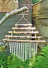BAMBOO & METAL WINDCHIME * GENTLE & SOOTHING SOUND