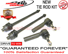 LIFETIME Tie Rod Kit Cadillac Chevrolet GMC 2500 3500 Hummer 4x4 Inner & Outer
