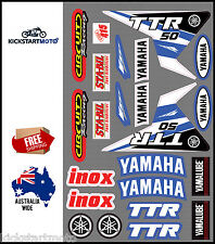 For Yamaha TTR50 Sticker Decal Kit TTR 50 Stickers